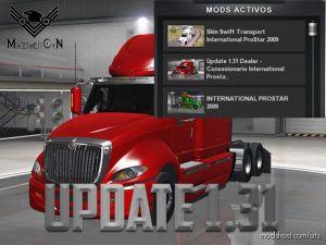Update Dealership Internarional Prostar 1.31 for American Truck Simulator