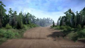 Allardt Raceway Map for MudRunner