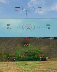 [9.20] Sight Taipan 2 + Penetration Indicator for World of Tanks