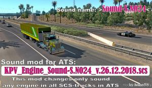 Engine Sound S.n024 1.33.X for American Truck Simulator