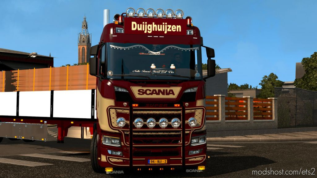 Scania S Duijghuijzen 1.35 for Euro Truck Simulator 2