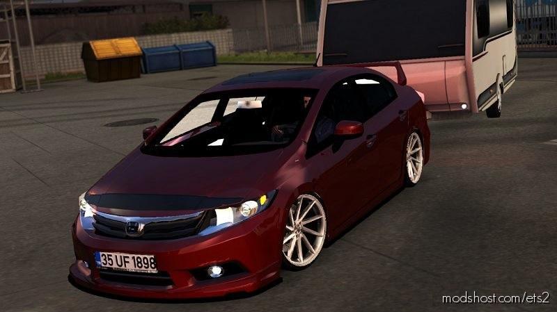 Honda Civic Fb7 V1R10 1.35 for Euro Truck Simulator 2