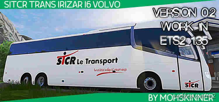 Irizar I6 – Skin Stcr – Ets2 1.34 & 1.35 for Euro Truck Simulator 2