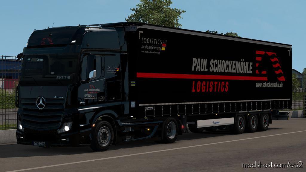 Skin Pack For Krone Megaliner By Sogard3 V3.4 1.35.X for Euro Truck Simulator 2