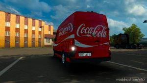 Cocacola Skins For Volkswagen Crafter 2019 By Hf Games for Euro Truck Simulator 2