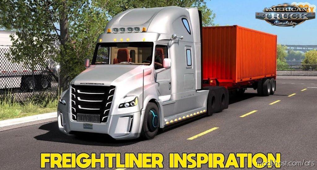 Freightliner Inspiration + Interior for American Truck Simulator