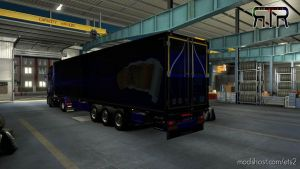 Griffin Combo Blue For Scania Next Gen And Krone Coolliner for Euro Truck Simulator 2
