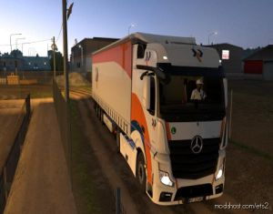 New Actros Mp4 Sound 1.35.X for Euro Truck Simulator 2