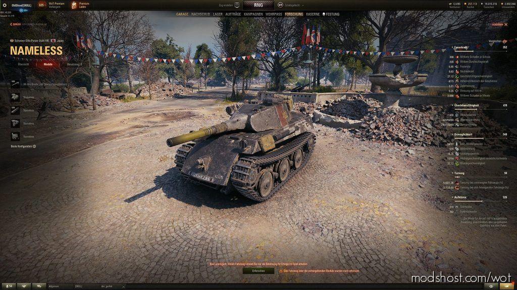 Oldskool's Extended Techtree [1.6.0.0] for World of Tanks