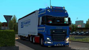 William De Zeeuw Skin Daf E6 1.35 for Euro Truck Simulator 2