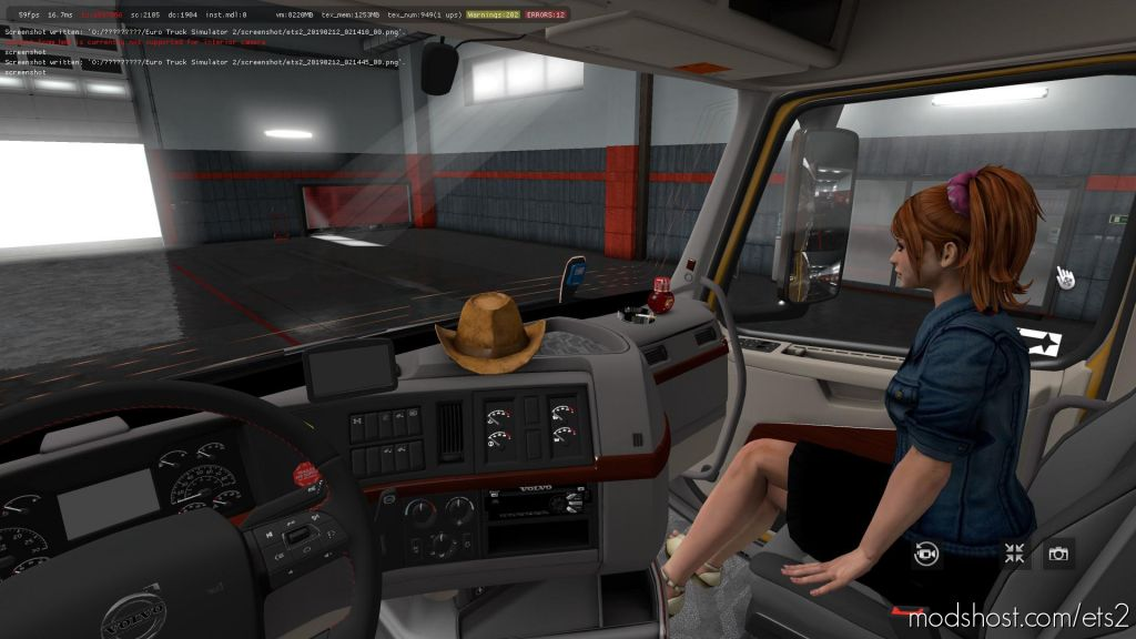 Volvo Vnl 2018 2.16 1.35-1.36 for Euro Truck Simulator 2