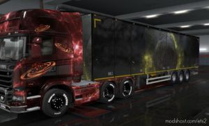 Combo Skin Pack Space 1.35.X for Euro Truck Simulator 2