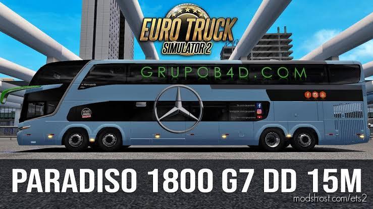 G7 1800 DD 15 M Mercedes 1.35 for Euro Truck Simulator 2