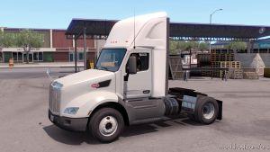 Plastic Sideskirt For The Peterbilt 579 for American Truck Simulator