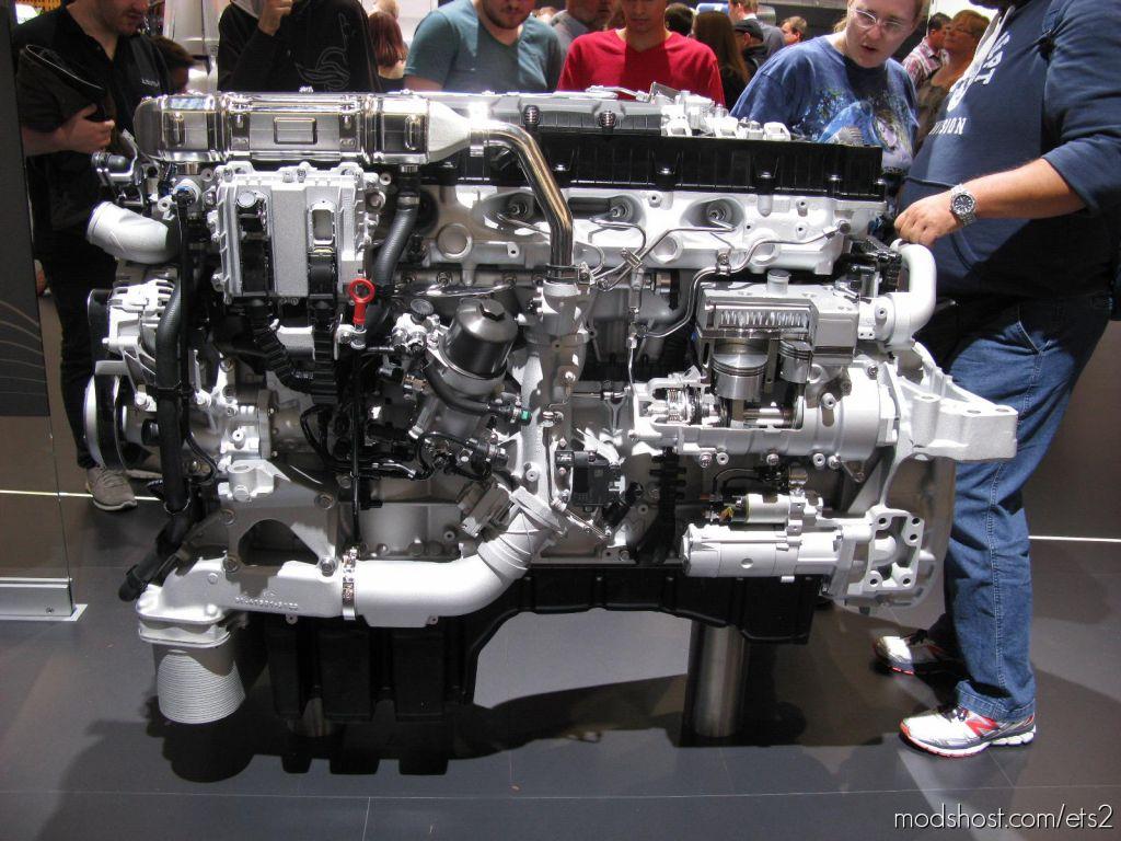 Man TGX Euro 6 Real V8 Sound And Sound Rework V4.0 1.36 for Euro Truck Simulator 2