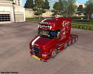 Rjl T Metallic Griffin Skin 1.36 for Euro Truck Simulator 2