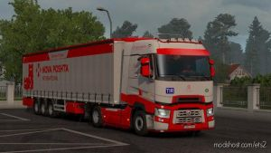 Novaposhta International Combo Skin for Euro Truck Simulator 2