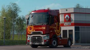 Skin Transgatine Renault T 1.36.X for Euro Truck Simulator 2