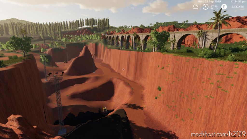 Mining & Construction Economy V0.4.1 Platinum for Farming Simulator 2019