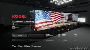 Usa Farming Kogel Autoloader Trailer for Farming Simulator 2019
