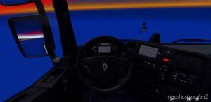 Renault T Dark Interior 1.36.X for Euro Truck Simulator 2