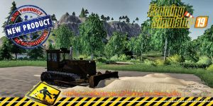 Dozer T170 Old V1.2.0.1 for Farming Simulator 2019