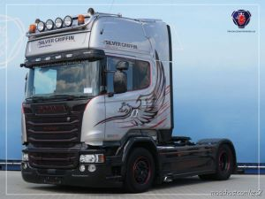Scania Rjl, R2009, Streamline Real V8 Sound 1.36 for Euro Truck Simulator 2