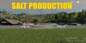Salt Production for Farming Simulator 2019