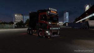 Broderna Nystroms Scania Next Gen Skin 1.35.X for Euro Truck Simulator 2