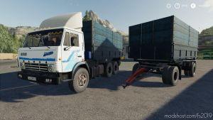 Kamaz 5320 & Nefaz 8560 Autoload Pack for Farming Simulator 2019