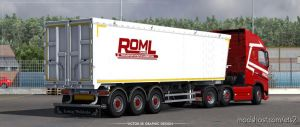 Roml Cargo Volvo FH4 And Bodex Kis 3 Skinpack for Euro Truck Simulator 2