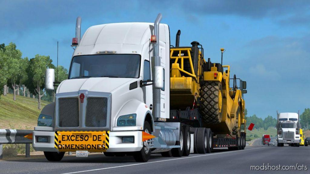 Kenworth T880 Fix V1.6 1.35 & Up for American Truck Simulator