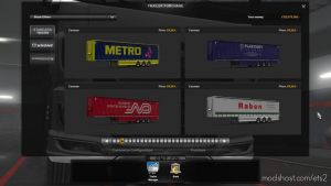 Promods 2.42 Ownable Trailer Skinpack For Truckersmp for Euro Truck Simulator 2