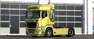 The Griffin Rjl'S Scania R Skin for Euro Truck Simulator 2