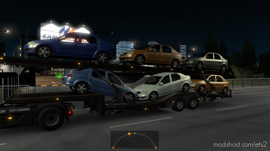 Dacia Logan Trailer for Euro Truck Simulator 2
