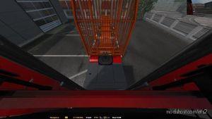 Back Cam 1.35 / 1.36 for Euro Truck Simulator 2