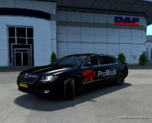 Skoda Superb By Mr Thijs 1.35 – 1.36 for Euro Truck Simulator 2