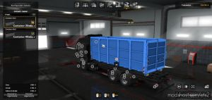 Din Containers For Madster Man TGX E6 for Euro Truck Simulator 2