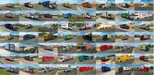 Painted BDF Traffic Pack By Jazzycat V6.5 for Euro Truck Simulator 2
