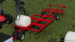 Dmi Metalworx Bale Trailer for Farming Simulator 2019