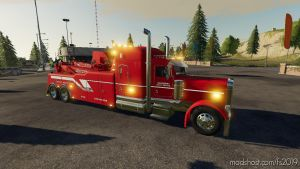 Tow Truck/Wrecker Pack Update V0.2.2 for Farming Simulator 2019