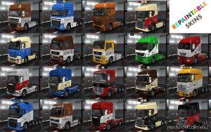 Custom Repaintable Wolf Skins V1.8 for Euro Truck Simulator 2