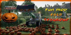 Halloween Mod V1.2 for Farming Simulator 2019