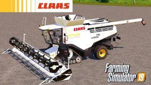 Claas Lexion 700 100Th Anniversary (Unrealistic) for Farming Simulator 2019