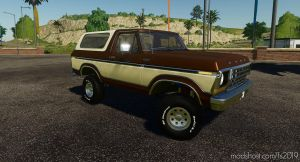 Ford Bronco Custom 1978 V0.9 for Farming Simulator 2019