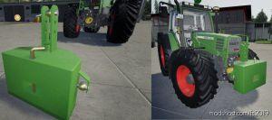 800Kg Steel Weight V1.1 for Farming Simulator 2019