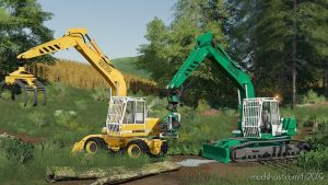 Excavator Liebherr 902 Pack for Farming Simulator 2019