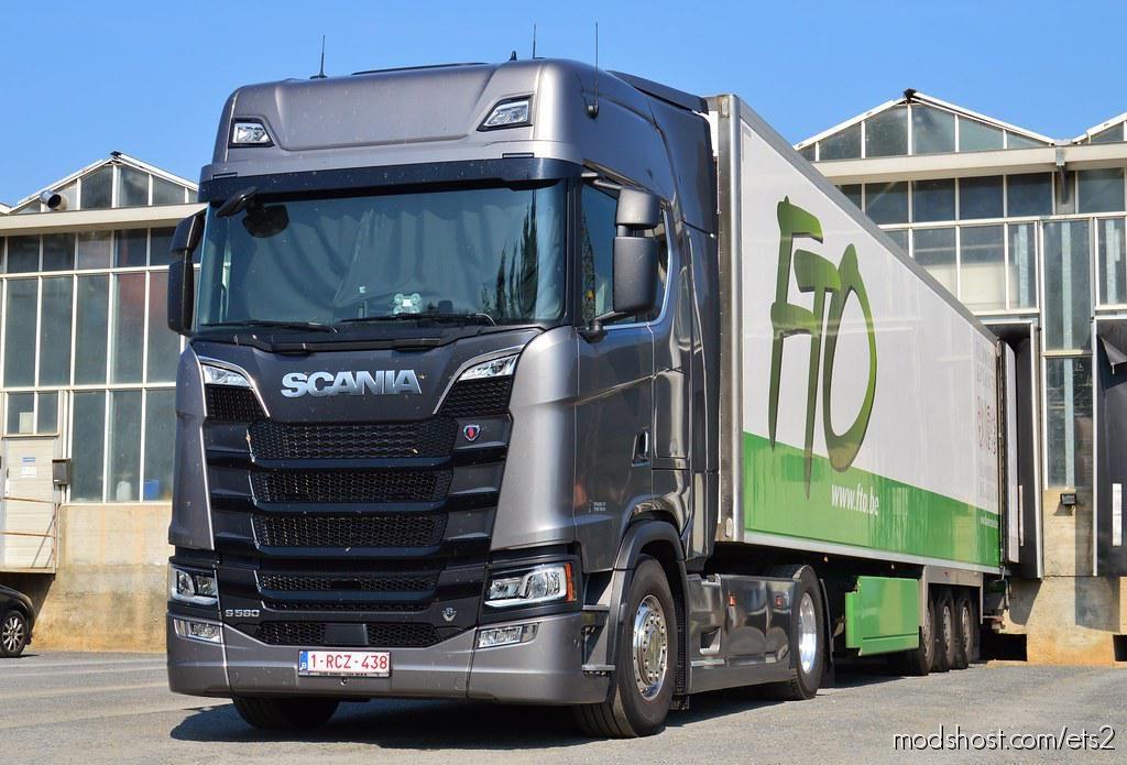 Scania Nextgen Real V8 Sound V5.0 1.36 for Euro Truck Simulator 2