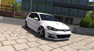 Volkswagen Golf 7 R Line 1.35.& UP for Euro Truck Simulator 2