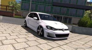Volkswagen Golf 7 R Line 1.35.& UP for Euro Truck Simulator 2